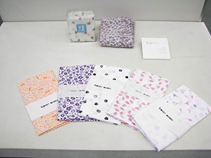 滋賀県工業技術総合センター滋賀小紋柄展示物写真