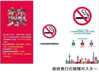 政府発行の禁煙ポスター画像