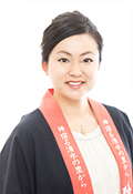 梅乃宿酒造株式会社代表取締役吉田佳代氏顔写真画像