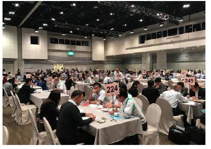 日タイビジネス商談会の風景写真