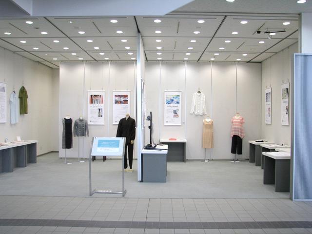 「近江の麻」「近江ちぢみ」~ワンピース&シャツ展~の展示ギャラリー写真