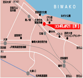 コラボしが21地図