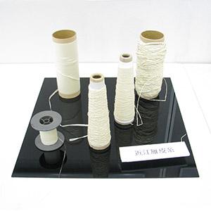 共同研究成果発表「ペーパーヤーンを使用した高付加価値織物素材の試作と物性評価」写真3