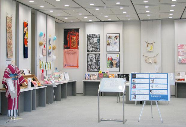 女性起業家の応援ギャラリーの展示会全体写真
