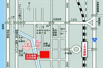 滋賀県立文化産業交流会館の地図画像