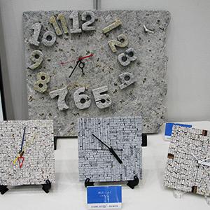 「株式会社 清水石材店・石でつなぐ「未来」」展の展示会写真4