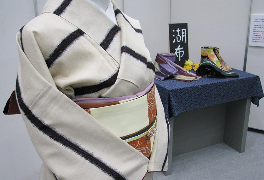 「湖布(こふ)オリジナルの「二部仕立て着物」を前代未聞の破格の仕立て代で実現!」展の全体写真