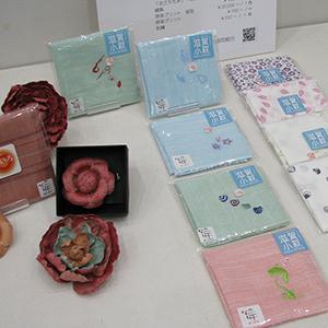 「近江の麻」「近江のちぢみ」展の展示会写真5