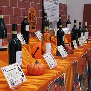 株式会社ユニゾンファブリック「一歩先の食卓へ、スイスイ飲めるワイン!」の展示会写真2