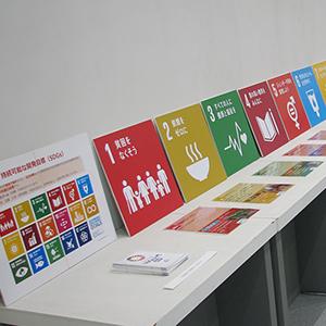 「途上国で活躍する滋賀の企業」展の展示会写真5