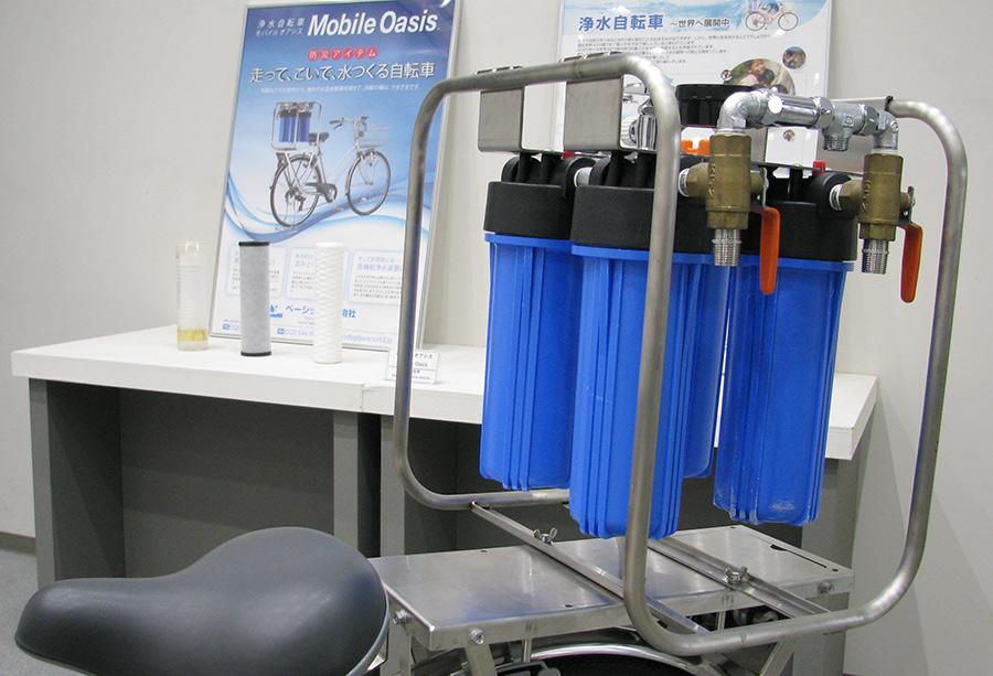 「SDGsに沿った浄水器の研究活動」展のイメージ写真