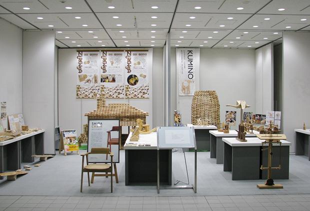 「木育」展の展示会全体写真1