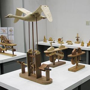 「木育」展の展示会写真2
