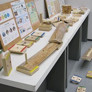 「木育」展の展示会写真4
