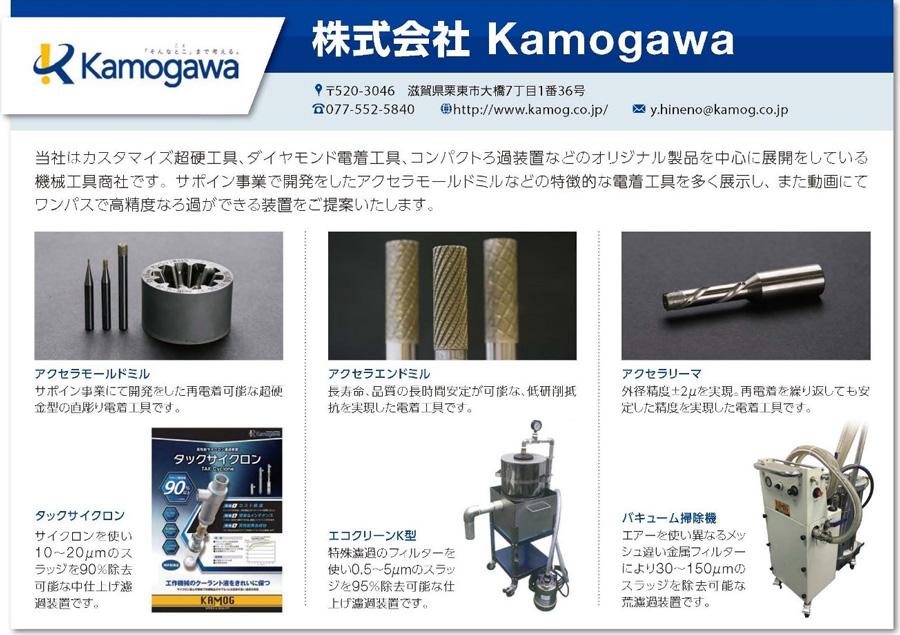 株式会社Kamogawa展示内容画像